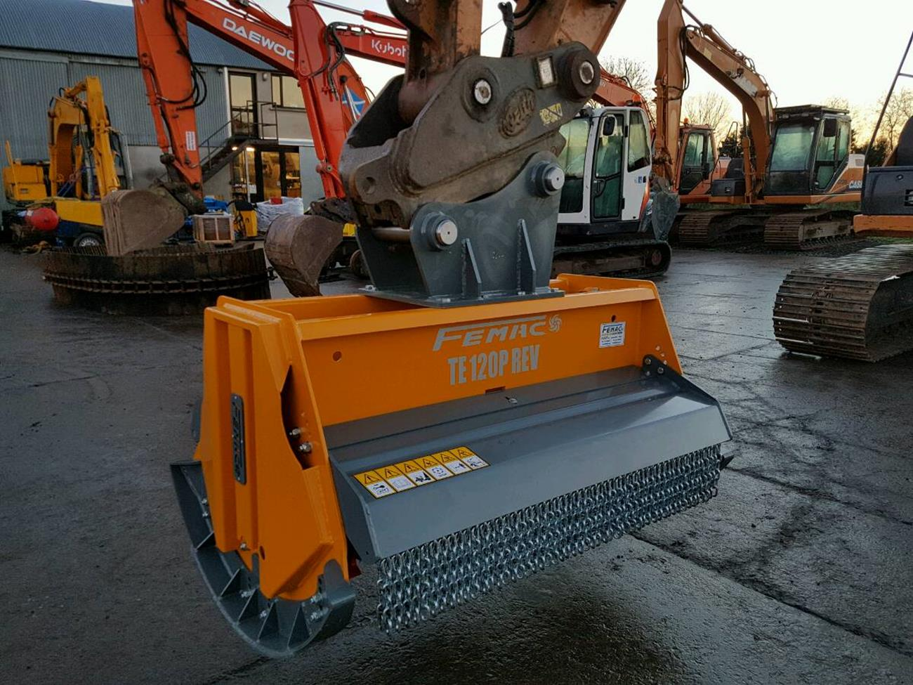 Femac TE120P Forestry Flail Mulcher - KD Plant